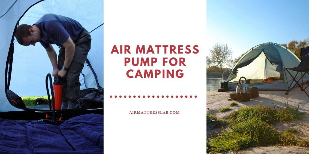 Air Mattress Pump for Camping