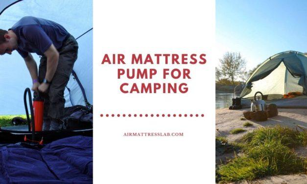 10 Best Air Mattress Pump for Camping   Expert Review