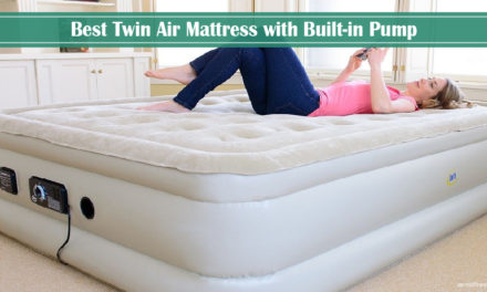 8 Best Twin Air Mattress with Built-in Pump 2019