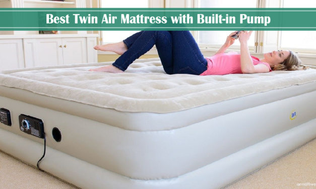 8 Best Twin Air Mattress with Built-in Pump 2021