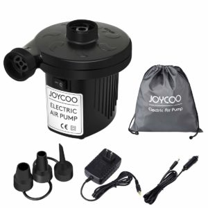 JOYCOO Electric Air Mattress Pump for Camping