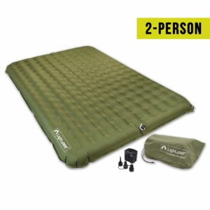 Lightspeed Outdoors 2 Person PVC-Free Air Mattress for Camping