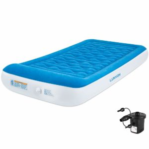 Lunvon Self Inflatable Pad Camping Air Mattress Twin Size