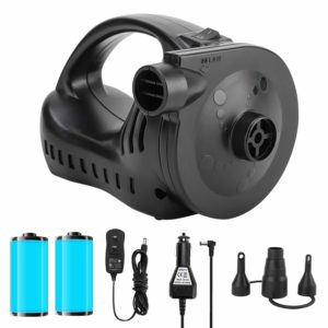 OlarHike Portable Electric Air Mattress Pump for Camping