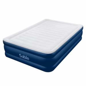 Sable Air Mattress Full Size XL with Built-in Electric Pump