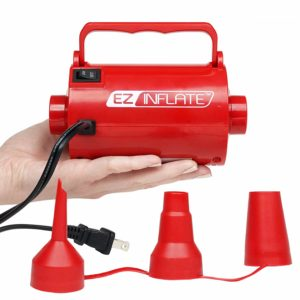 UPGRADED EZ Inflate HIGH VOLUME SUPREME AC Air Pump