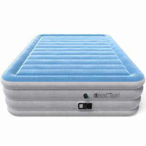 Vremi Inflatable Queen Air Mattress with Built-in Pump