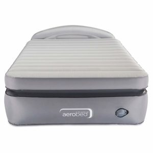 AeroBed Air Mattress with Built-in Pump & Headboard
