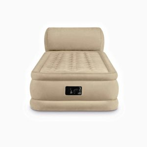 Insta-Bed Queen Raised Air Mattress with Headboard