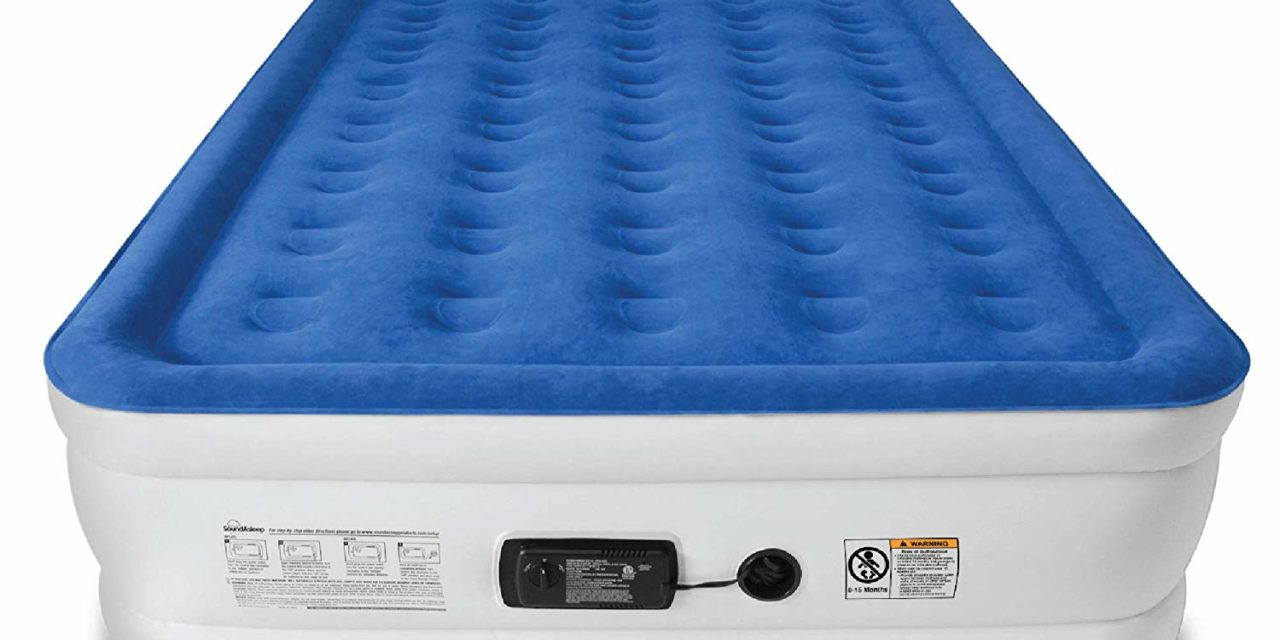 SoundAsleep Dream Series Air Mattress with ComfortCoil Review 2019