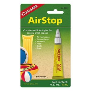 Coghlans Airstop Sealant, 0.27-Ounce 8 ml - 4 Pack