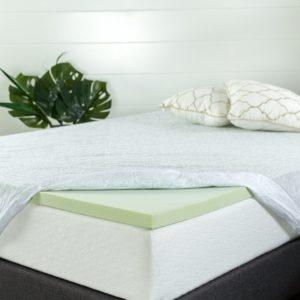 Zinus 1.5 Inch topper for air mattress
