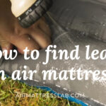 How To Find Leaks in an Air Mattress